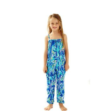 Girls Korra Jumpsuit - Lilly Pulitzer