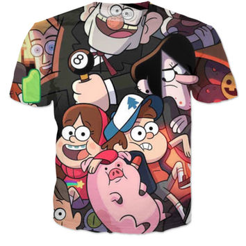Gravity Falls Cast T-Shirt