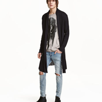 Ribbed Jersey Cardigan - from H&M