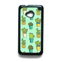 Cactus For HTC ONE M7/HTC ONE M8/HTC ONE M9 Phone case ZG