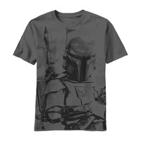 Star Wars Men's  Sarlacc Bait T-shirt Charcoal
