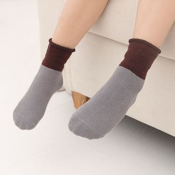 ac PEAPON Children Patchwork Socks 5 pairs/set [10383443468]