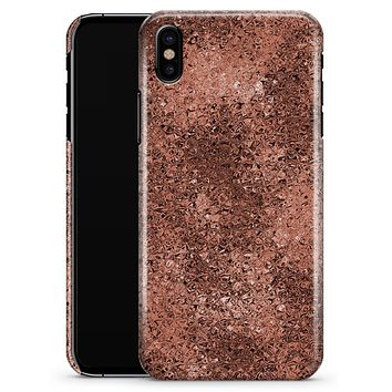 Rose Gold Liquid Abstract - iPhone X Clipit Case
