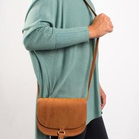 Kayla Tassel Crossbody Bag - Chestnut