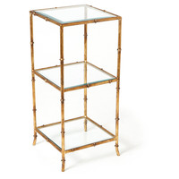 Kenmore Side Table, Gold, Standard Side Tables
