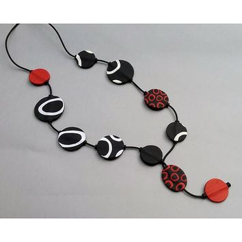 All NEW Mara Polymer Clay Necklace