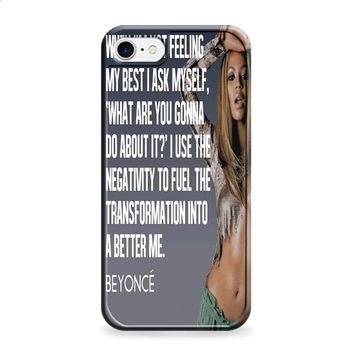 BEYONCE POPULAR QUOTES 2 iPhone 6 | iPhone 6S case