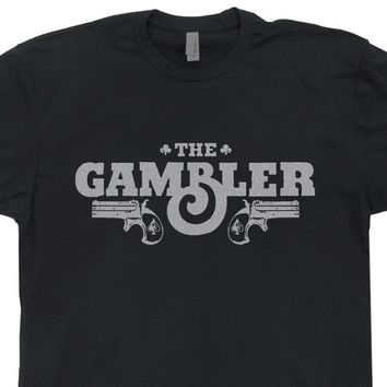 The Gambler T Shirt Vintage Las Vegas Shirt World Series of Poker T Shirt Cool Poker Tee