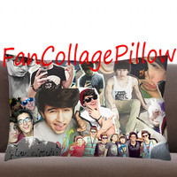 """Custom Pillow Casesstay cloudy Jc Caylen  collage ,available size 18"""" x 18"""", 16"""" x 24"""", 20"""" x 30"""" one side and two side cover"""
