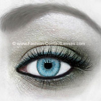 Water Colour Contact Lenses