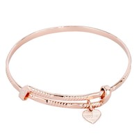 Amber Waves Expandable Wire Bangle