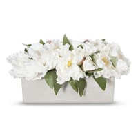 Smith & Hawken® Silk Peony Arrangement