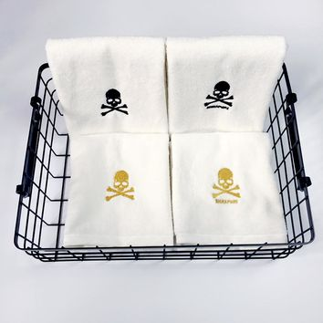 Cotton Skull Towels