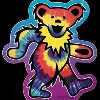 Grateful Dead - Tie Dye Bear Sticker