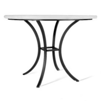 Faux Stone Pineapple Bistro Table   Frontgate