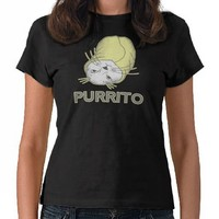 purrito t-shirt from Zazzle.com