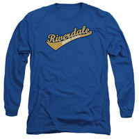 ARCHIE COMICS/RIVERDALE HIGH SCHOOL - L/S ADULT 18/1 - ROYAL -