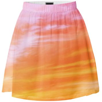 Red clouds skirt