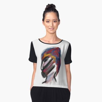 'no more waiting' Women's Chiffon Top by BillOwenArt