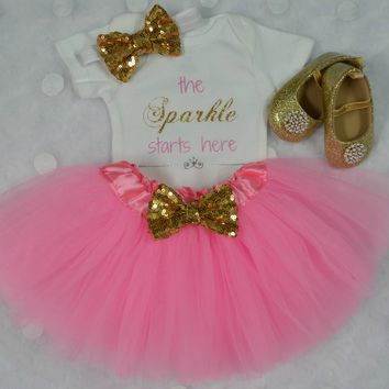 The Sparkle Starts Here Outfit