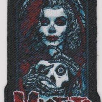 Misfits Iron-On Patch Unmasked Logo
