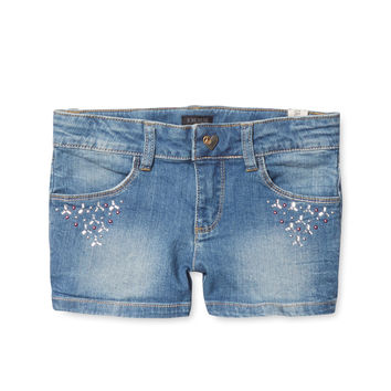 Sequin Bermuda Shorts