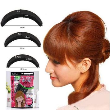 DKLW8 1 Set YouMap Sponge Hair Maker Styling Twist Magic Bun Hair Base Bump Styling Insert Tool Volume Y5R4
