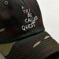 A Tribe Called Quest Thank You Camo Dad Hat | Urban Outfitters