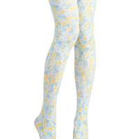 Floral Pathways Tights