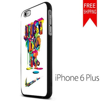 NIKE JUST DO IT COLORFUL WS iPhone 6 Plus Case