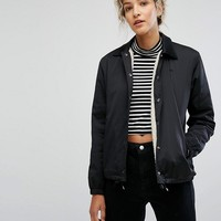 Wood Wood Beverley Coach Jacket at asos.com