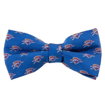 Oklahoma City Thunder Repeat Woven Bow Tie, Size: One Size (Okt Team)
