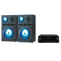 QFX High end Speakers With Amplifier with DVD, CD, USB, FM, HDMI