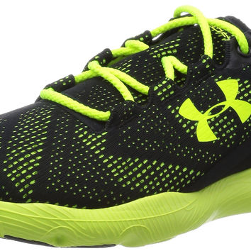 Under Armour Men's UA Speedform Apollo Vent Running Shoes Black/High-Vis Yellow/High-Vis Yellow 10.5 D(M) US '
