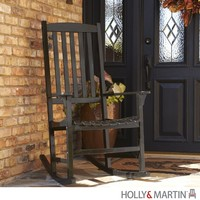 Holly & Martin Jameson Porch Rocker-Black