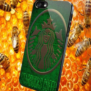 Starbucks Logo Case  for iPhone 4/4S/5/5S/5C Case, Samsung Galaxy S3/S4/S5 Case, iPod Touch 4/5 Case