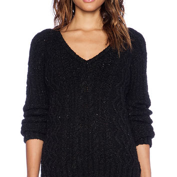 G-Star Sturwed Knit Sweater in Black