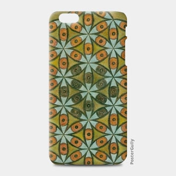 The Flower of Life within the Third Eye iPhone 6/6S Plus Cases | Artist : Luke's Art Voyage