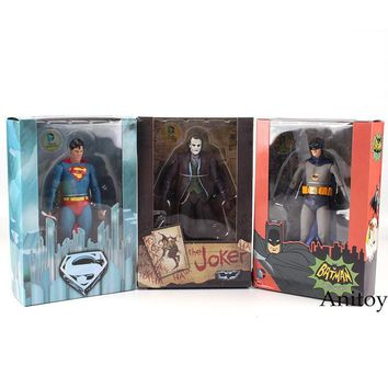 Batman Dark Knight gift Christmas NECA DC Comics Superman Vs. Batman Joker 1/8 scale painted PVC Action Figure Collectible Model Toy 18cm KT2187 AT_71_6