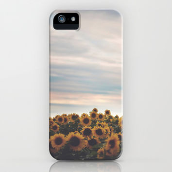 Sunflowers iPhone & iPod Case by Tasha Marie