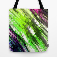 LOUNGE COLORS Tote Bag by Chrisb Marquez