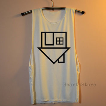 The Neighbourhood Shirt Muscle Tee Tank Top TShirt T Shirt Top Women - size S M L