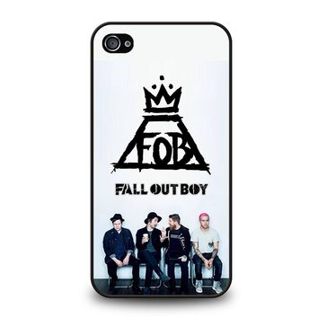 FALL OUT BOY FOB iPhone 4 / 4S Case