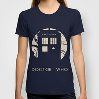 Doctor Who T-shirt by LukeMorgan