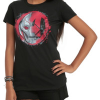 Marvel The Avengers: Age Of Ultron Ultron Logo Girls T-Shirt