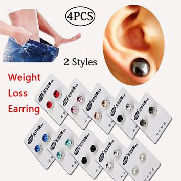 Magnetic Stud Healthcare Earring Weight Loss Slimming Patch Healthy Stimulating Magnetic Therapy