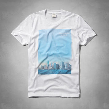City Photoreal Graphic Tee