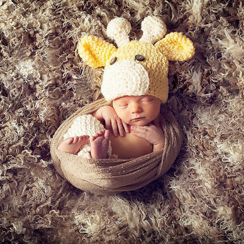 Newborn Baby Girls Boys Crochet Knit Costume Photo Photography Prop = 4457585092