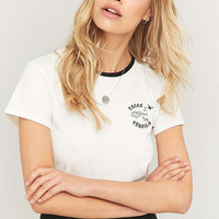 Minkpink Tacos and Tequila Cropped T-shirt - Urban Outfitters