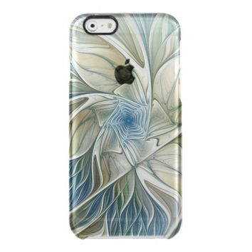 A Floral Dream Pattern Abstract Fractal Art Clear iPhone 6/6S Case